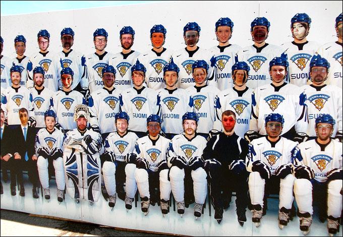 Каждый может почувствовать себя игроком сборной Финляндии