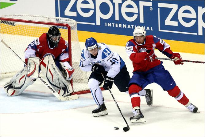 Финляндия — Норвегия — 4:1