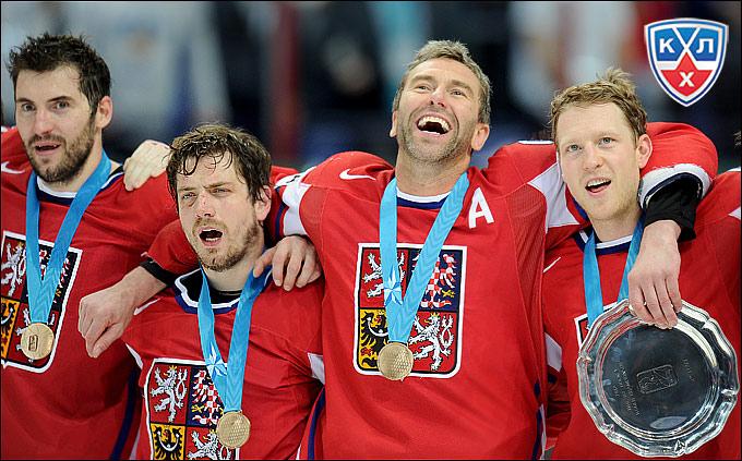 Петр Часлава — бронзовый призёр чемпионата мира в составе сборной Чехии