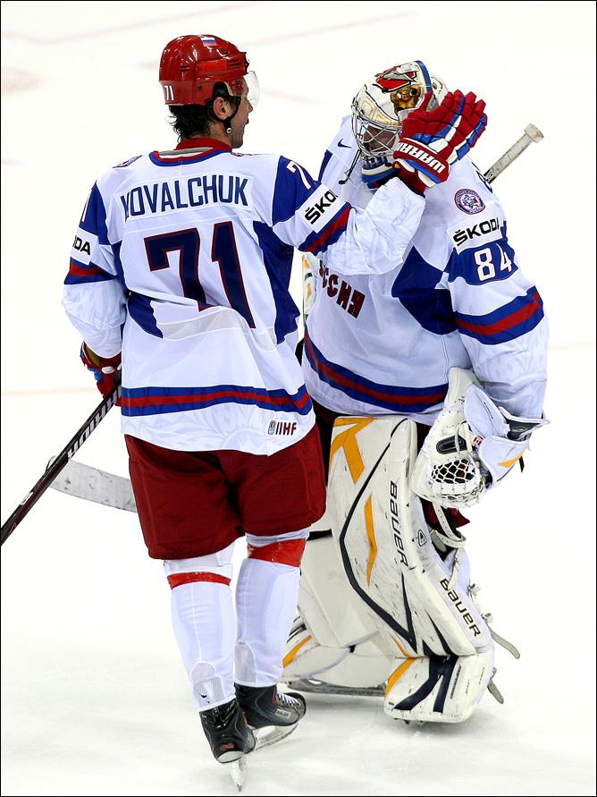 12 мая 2011 года. Братислава. Чемпионат мира. 1/4 финала. Канада — Россия — 1:2