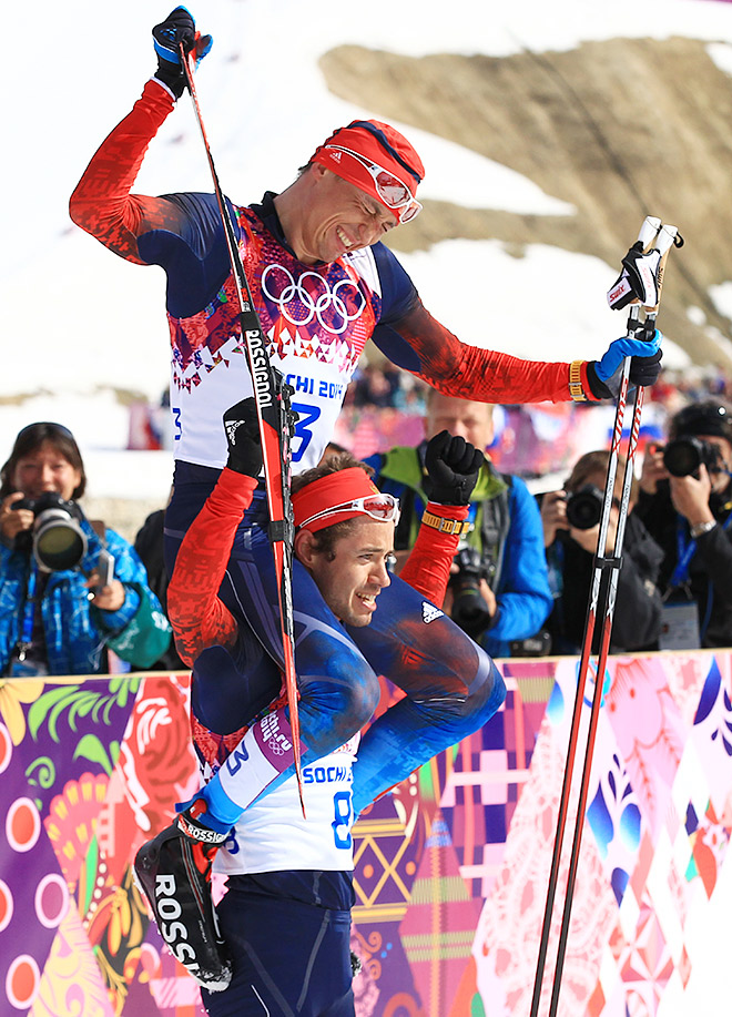 Триумф Александра Легкова в лыжном марафоне