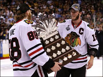 """25 июня 2013 года. Бостон. Плей-офф НХЛ. Финал. Матч № 6. """"Бостон"""" — """"Чикаго"""" — 2:3. Патрик Кейн признан MVP плей-офф НХЛ"""