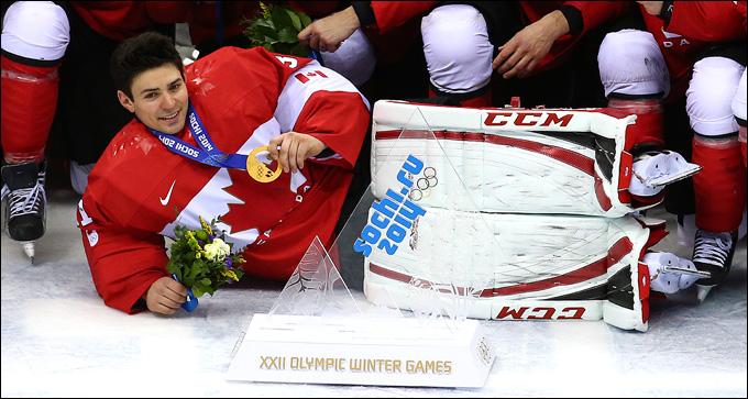 Кэри Прайс и его олимпийское золото