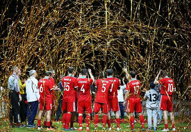 Сборная России выиграла Кубок Легенд