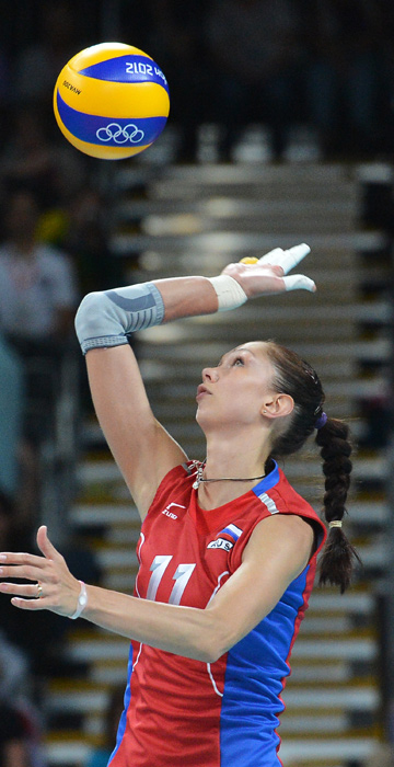 Екатерина Гамова в составе сборной России