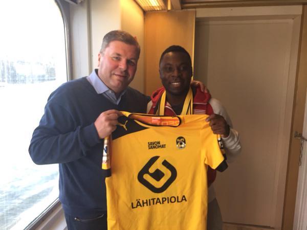 Фредди Аду продолжит карьеру в чемпионате Финляндии