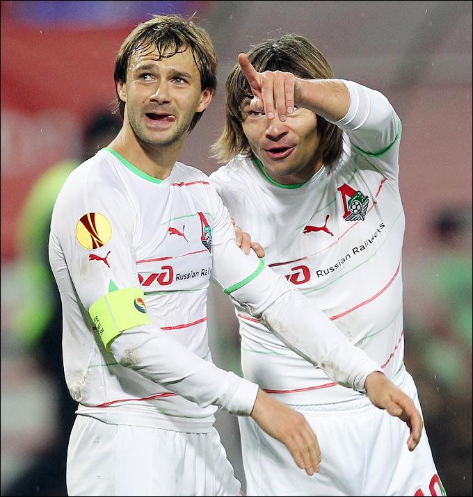 Дмитрий Сычёв и Дмитрий Лоськов