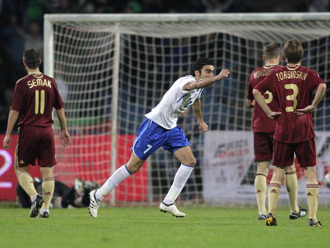 14 октября 2009 года, Азербайджан – Россия – 1:1