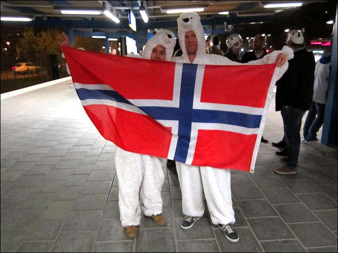 Белые мишки из Норвегии