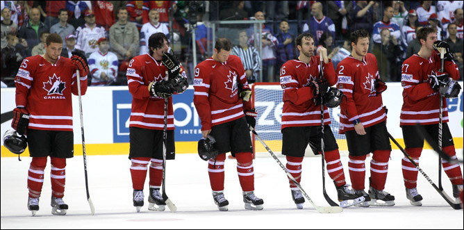 Canadian team going home…