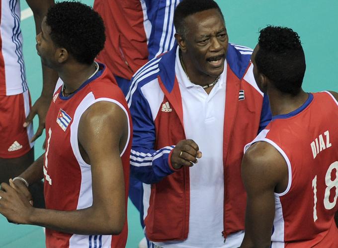 Орландо Самуэлс — главный тренер сборной Кубы