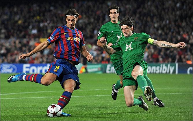 """На следующей неделе Ибрагимович и компания постараются сделать то, что осенью 2009 года сделал """"Рубин"""". Теперь Златан – против """"Барселоны""""…"""