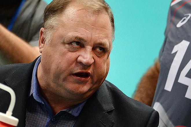 Главный тренер «Белогорья» Геннадий Шипулин
