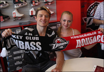 Главная надежда украинского хоккея Руслан Федотенко