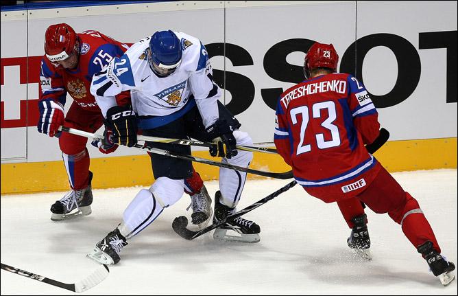 13 мая 2011 года. Братислава. Чемпионат мира. 1/2 финала. Финляндия — Россия — 3:0