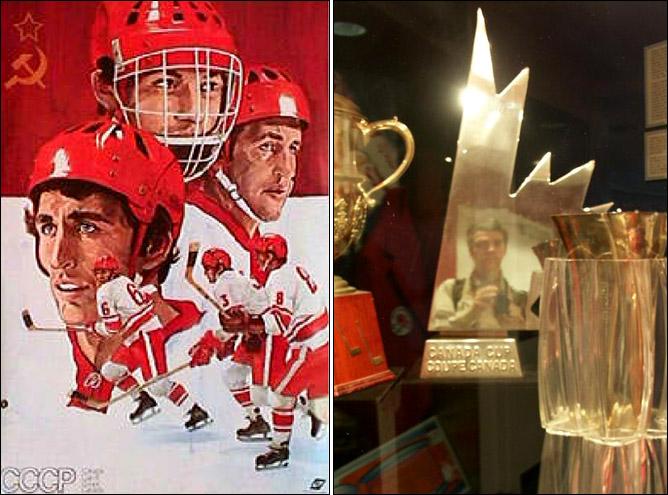Топ-100 историй ИИХФ. История № 6. 1976. Первый Кубок Канады. Фото 01.