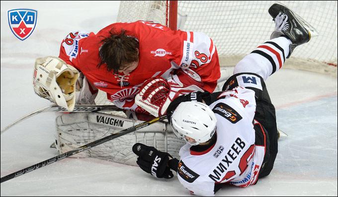 Александр Трушков в финале Кубка Харламова сражался как лев
