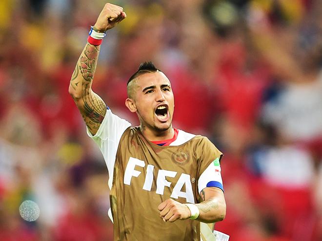 Артуро Видаль остается главной трансферной целью «МЮ»