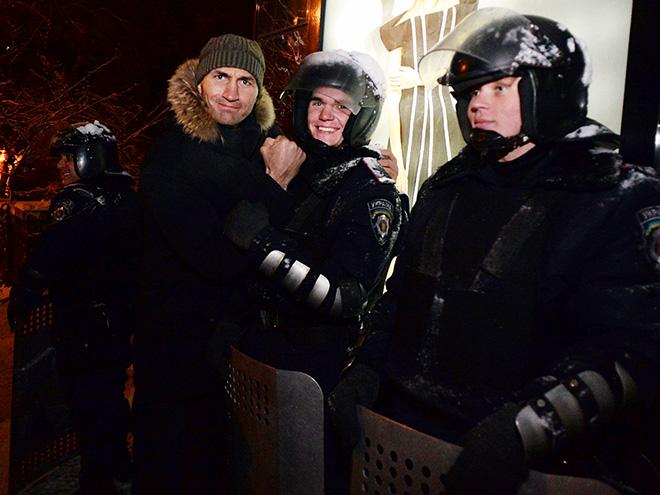 Владимир Кличко на Майдане