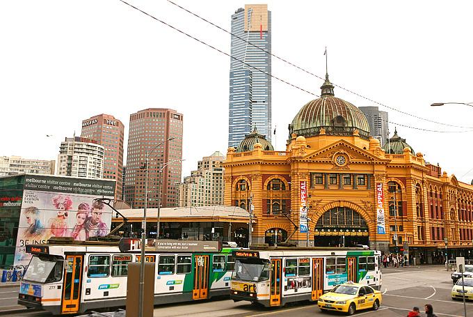 Мельбурнские трамваи