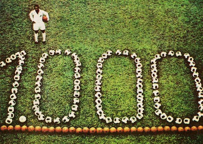 Пеле – один из членов клуба «1000»