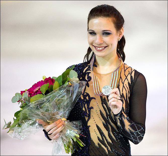 Медали Алёны Леоновой