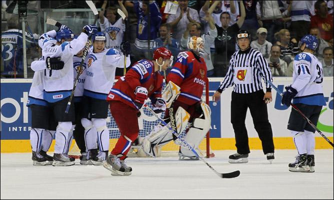 Два раза подряд обыграть на одном чемпионате российскую сборную… Финны могут гордиться этим. А чехи?