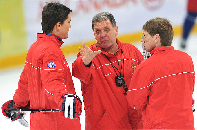 Игорь Никитин, Михаил Варнаков и Евгений Корешков