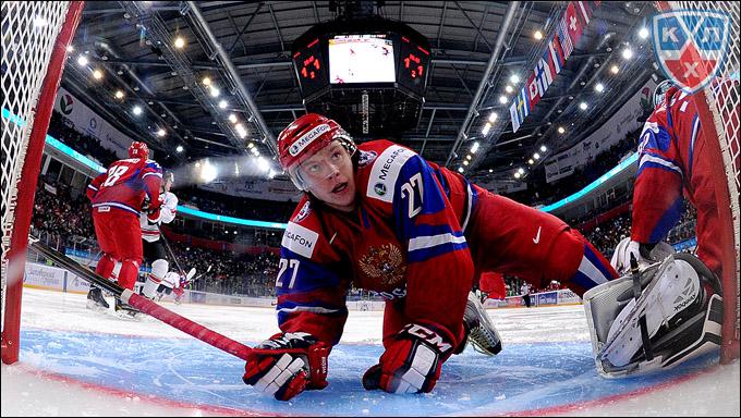 Кирилл Дьяков против сборной Швейцарии