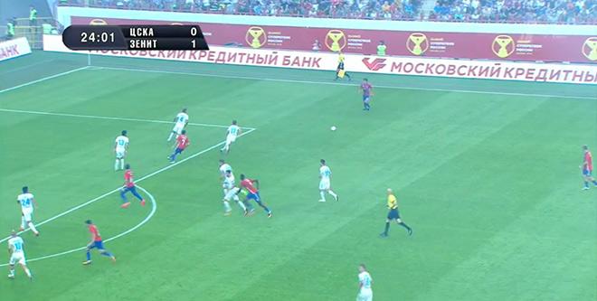 Вот как выглядит типичная атака ЦСКА