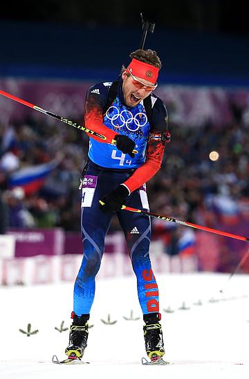 Победный финиш Антона Шипулина