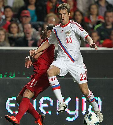 Португалия — Россия — 1:0. На краях обороны при Капелло уже мощная конкуренция