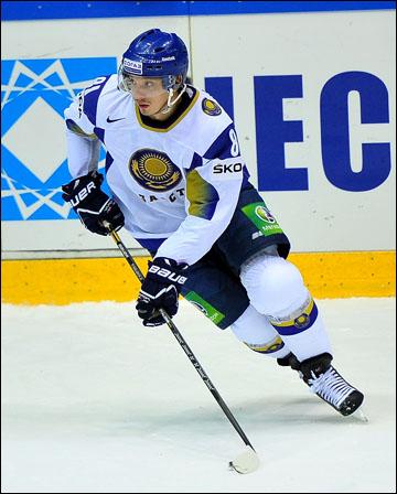 Константин Пушкарев в сборной Казахстана