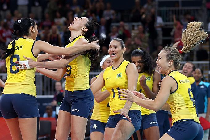Лондон-2012. Волейбол. Женщины. Сборная Бразилии