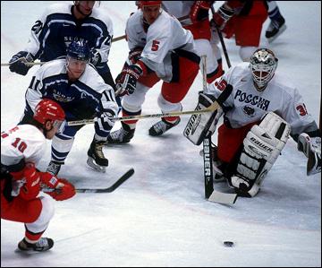 Нагано-1998. 1/2 финала. Россия — Финляндия — 7:4