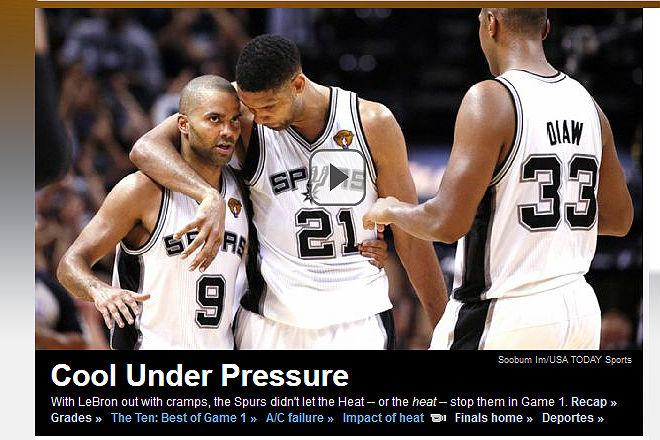 ESPN: «Прохлада под давлением»