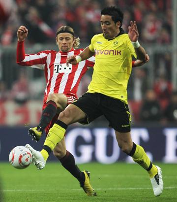 Самое главное качество Лукаса Барриоса – его умение распоряжаться мячом в штрафной.