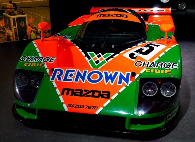 Mazda 787 B (победа в 1991 году в категории Group C)