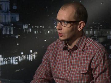 """Автор и ведущий программы """"Трибуна"""" Роман Чернявский"""