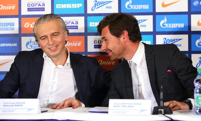 Александр Дюков и Андре Виллаш-Боаш