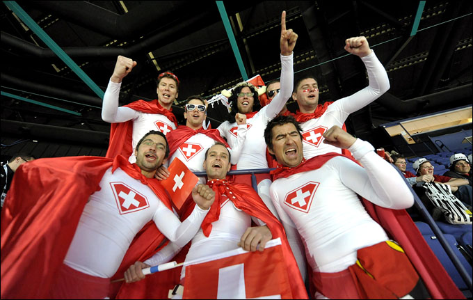 5 мая 2012 года. Хельсинки. Чемпионат мира. Групповой турнир. Швейцария — Белоруссия — 3:2