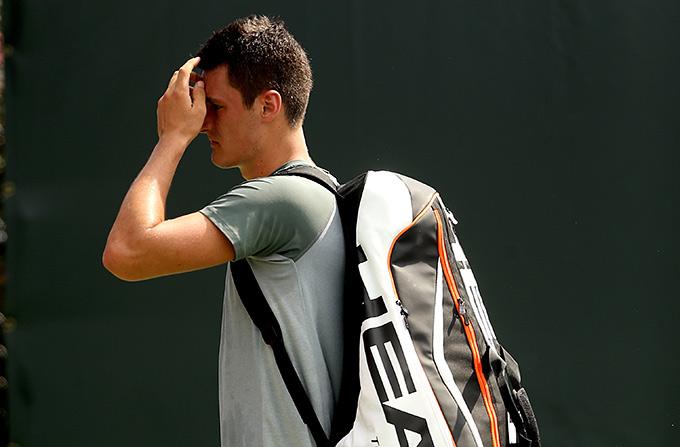 Бернард Томич устал от тенниса