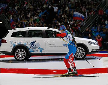 Андрей Маковеев на дистанции Гонки чемпионов