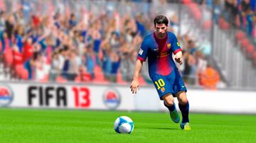 Лионель Месси в футбольном симуляторе FIFA 2013