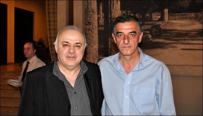 Рамаз Шенгелия и Нодар Хизанишвили