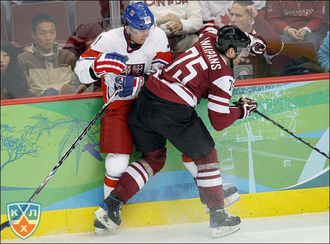 Гиртс Анкипанс в сборной Латвии на Олимпиаде-2010