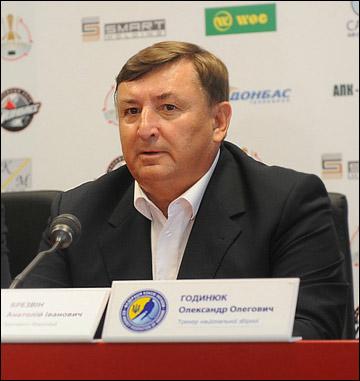 Президент Федерации хоккея Украины Анатолий Брезвин