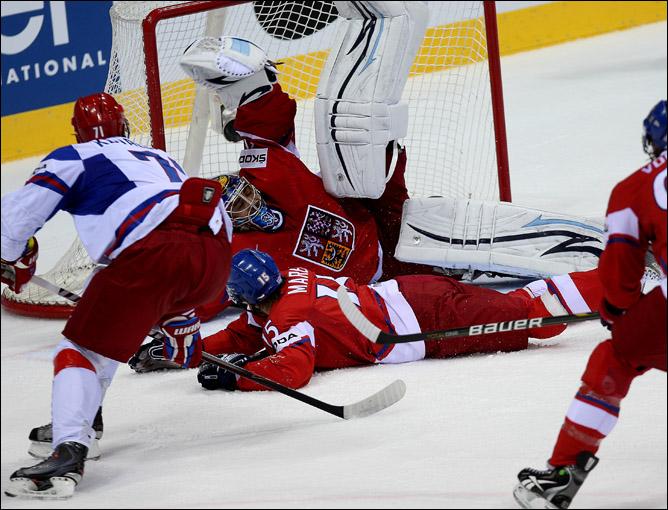 15 мая 2011 года. Чемпионат мира. Братислава. Матч за 3-е место. Чехия — Россия — 7:4