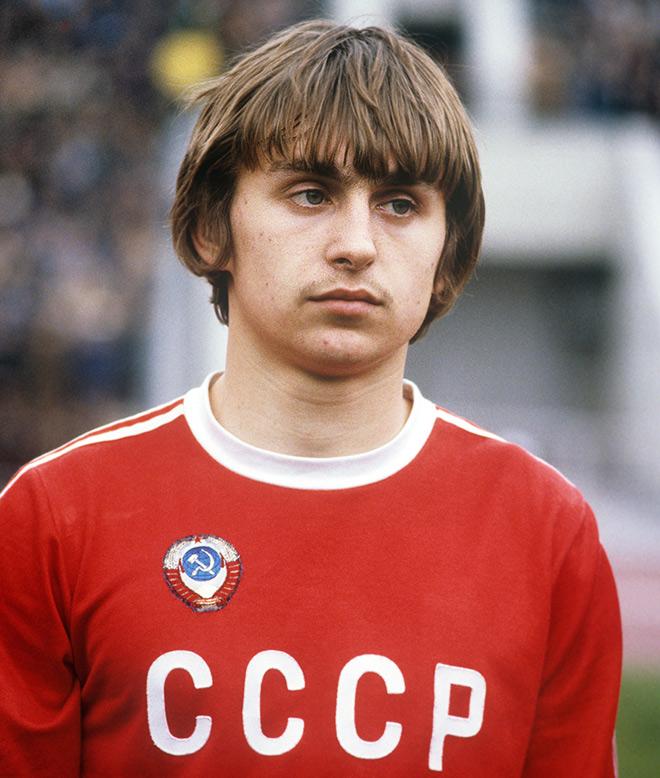 Фёдор Черенков — игрок сборной СССР на Олимпийских играх в Москве. 20 июля 1980 года — перед матчем с Венесуэлой