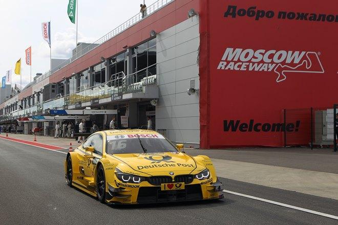 Тимо Глок на Moscow Raceway